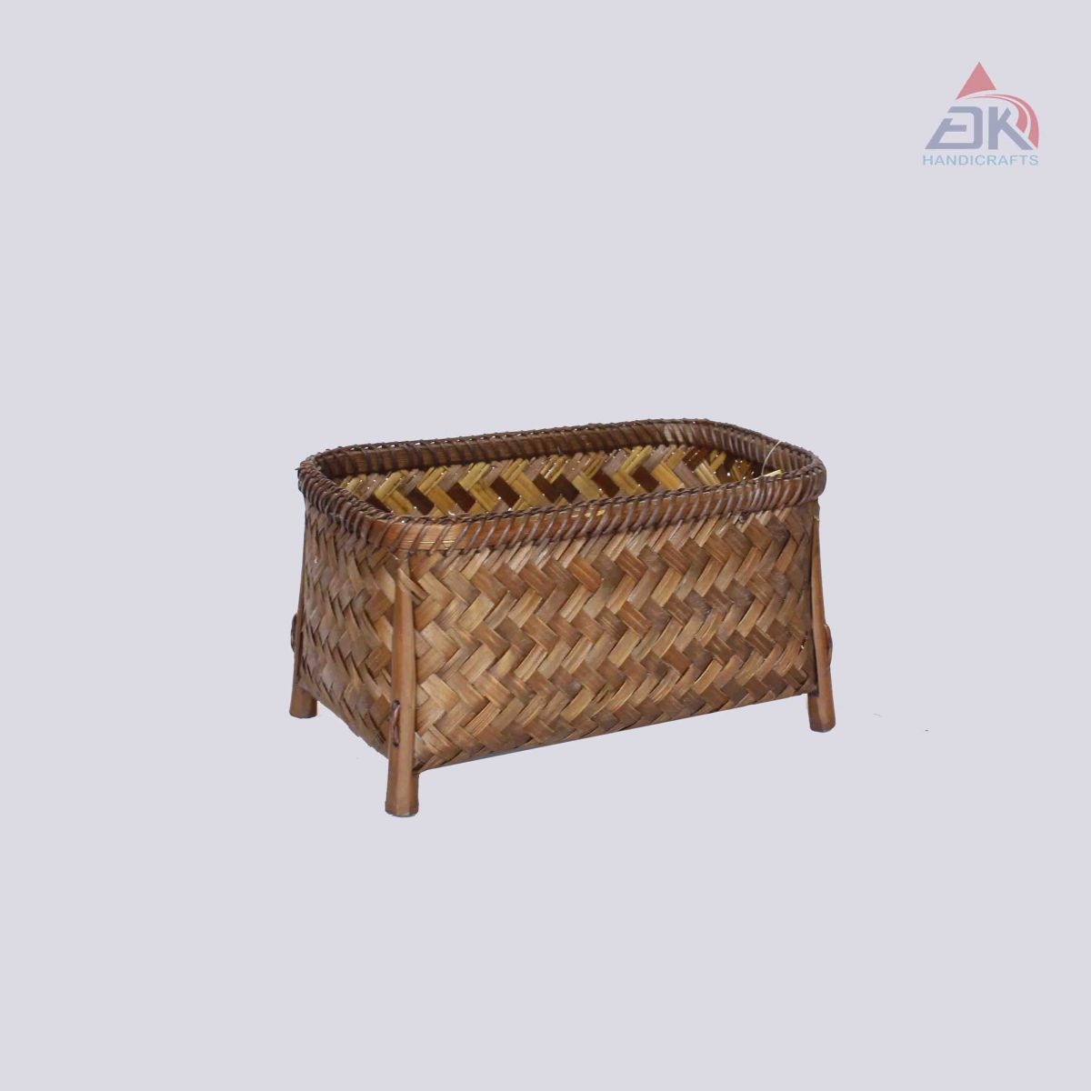 Standing Bamboo Basket
