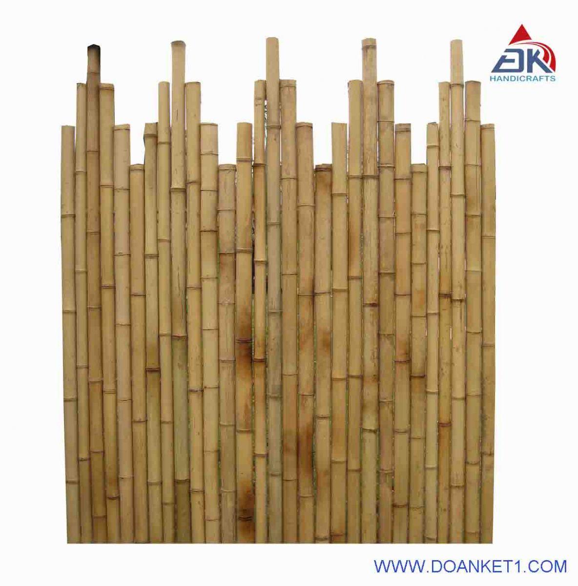 Pyramid Bamboo Fence