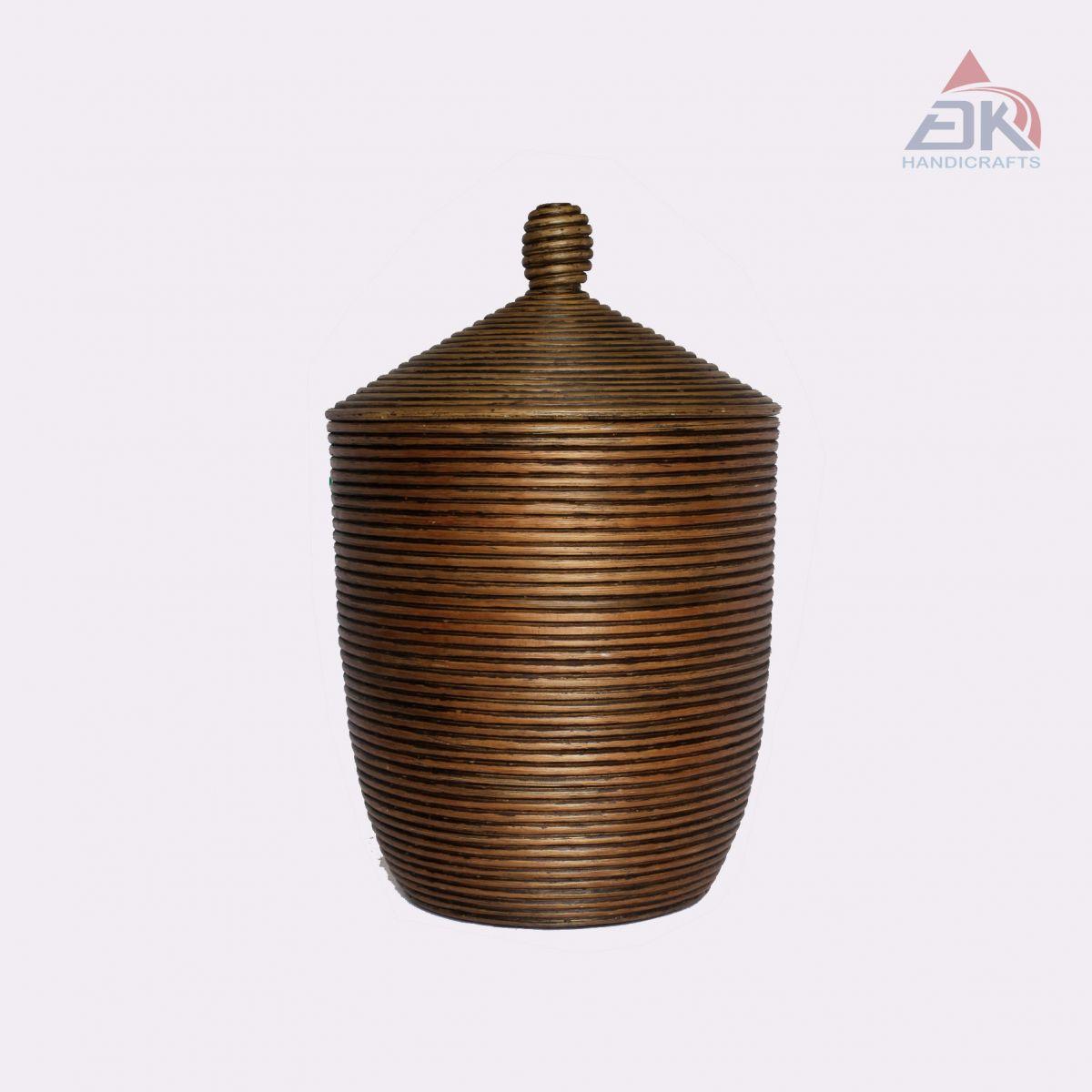 Rattan Coiled Basket # DK50