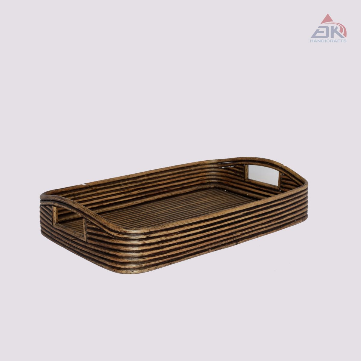 Tray Rattan Coiled # DK120