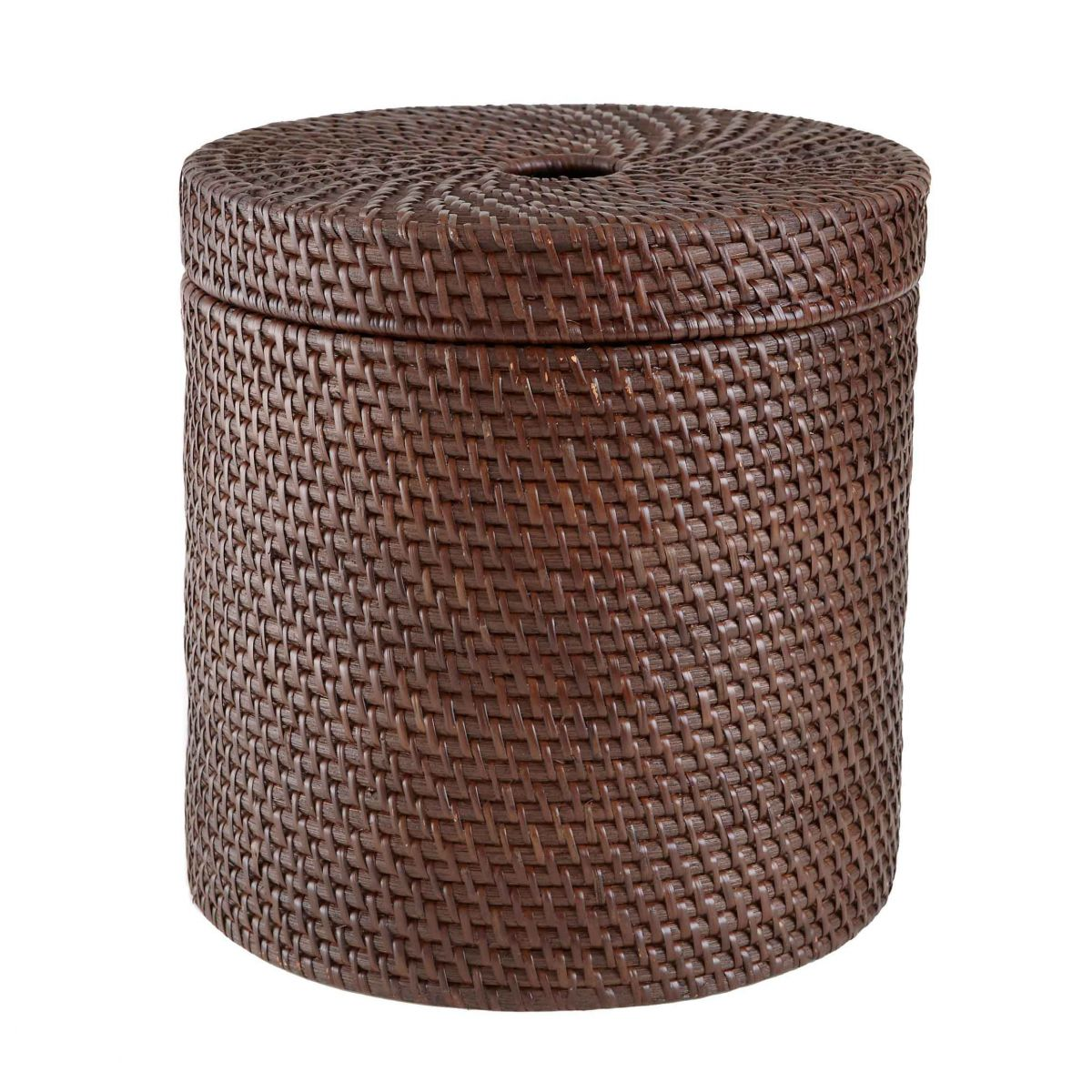 Rattan Basket With Lid # DK31