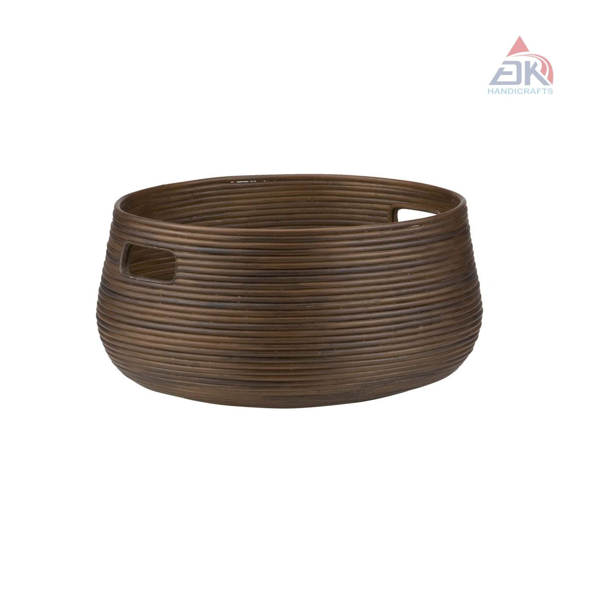 Coiled Oval Basket # DK35