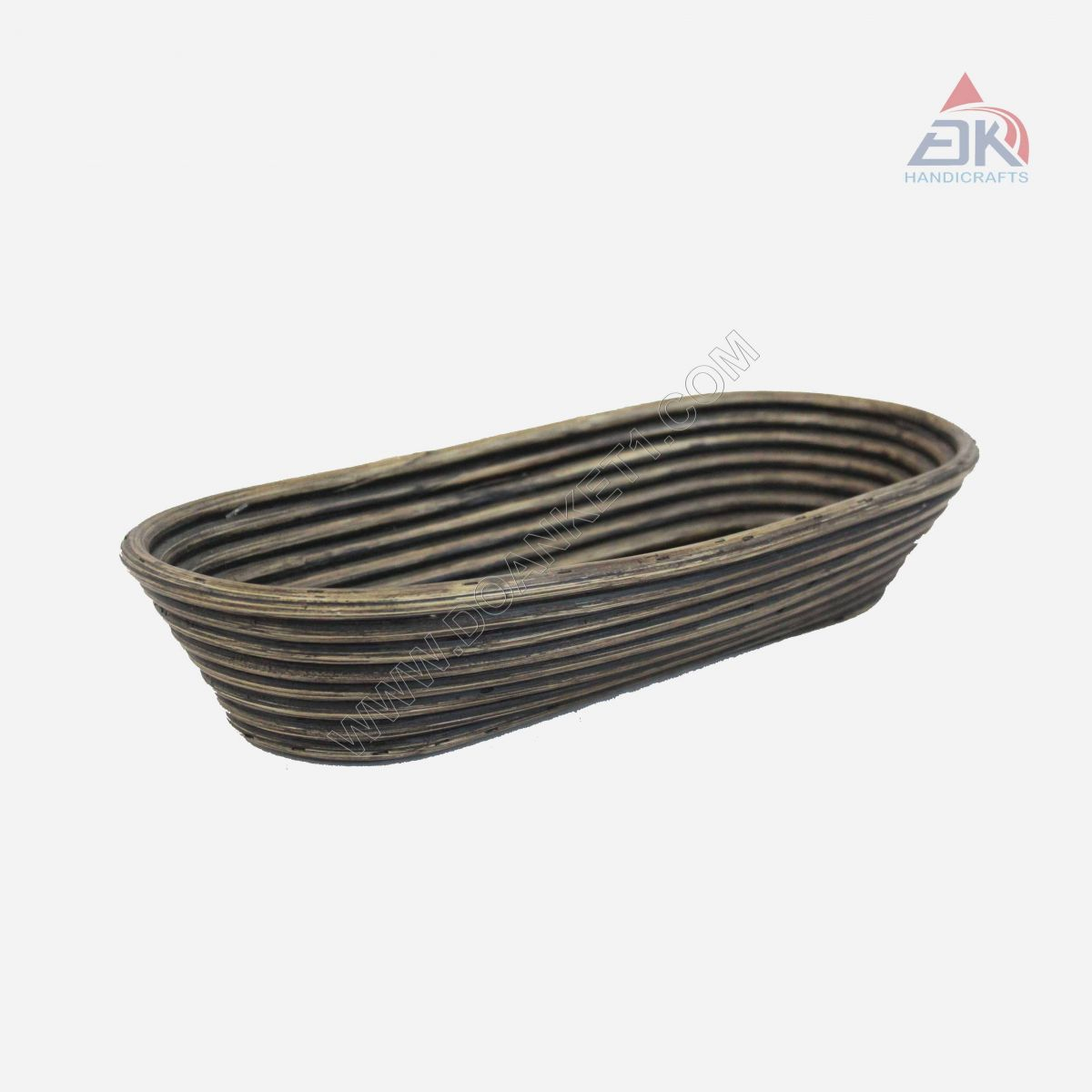 Rattan Coiled Basket # DK33