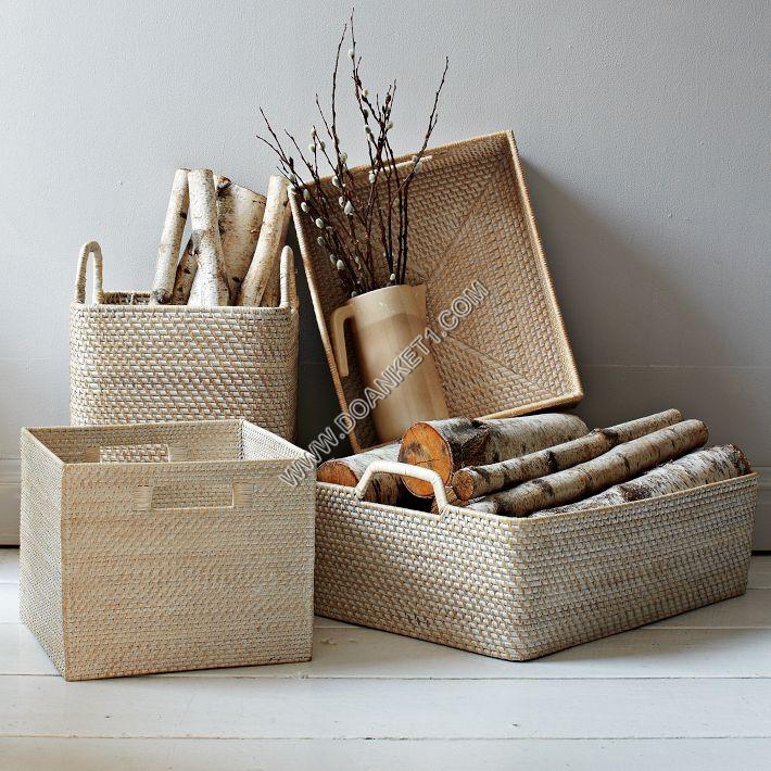 Rattan Baskets # DK01