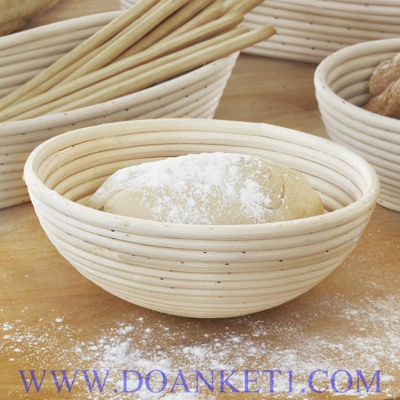 Rattan Bread Basket # DK124