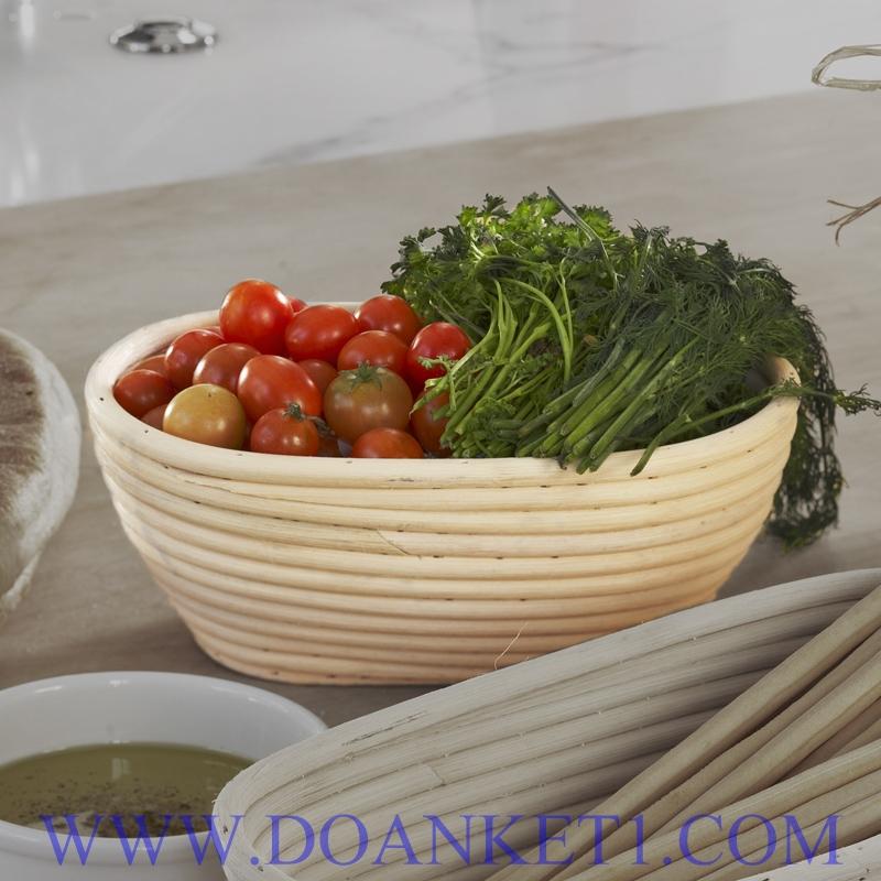 Rattan Bread Basket # DK125