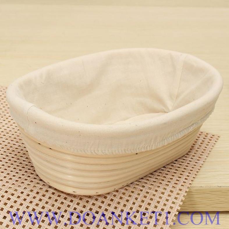 Rattan Bread Basket # DK126