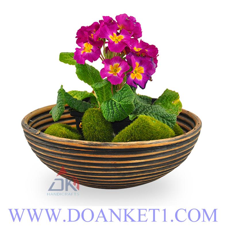 Rattan Flowerpot Basket # DK128