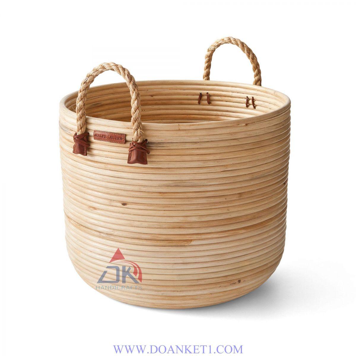 Rattan Storage Basket # DK129