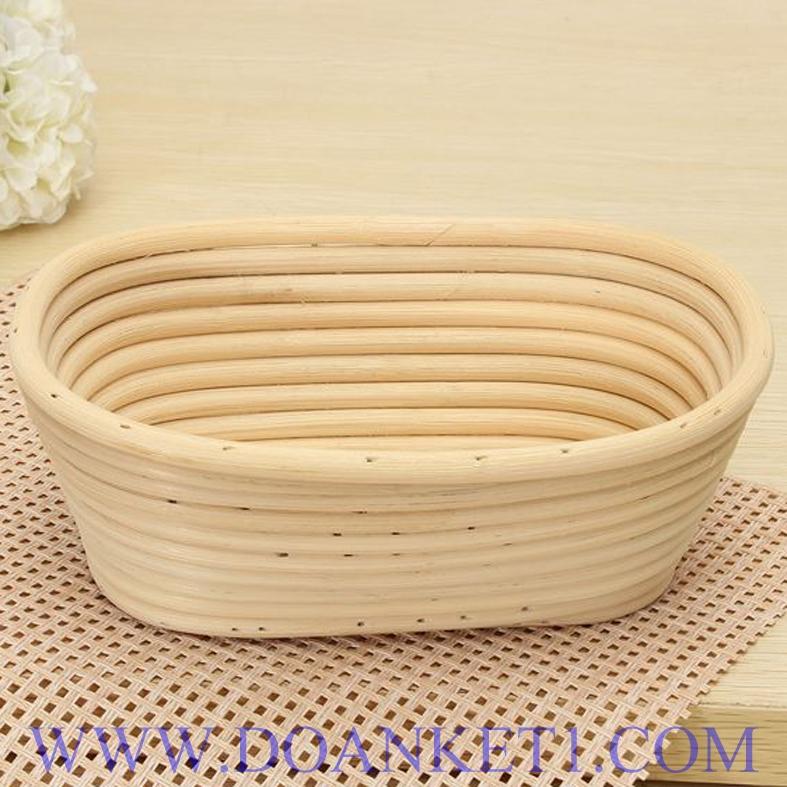 Rattan Bread Basket # DK133