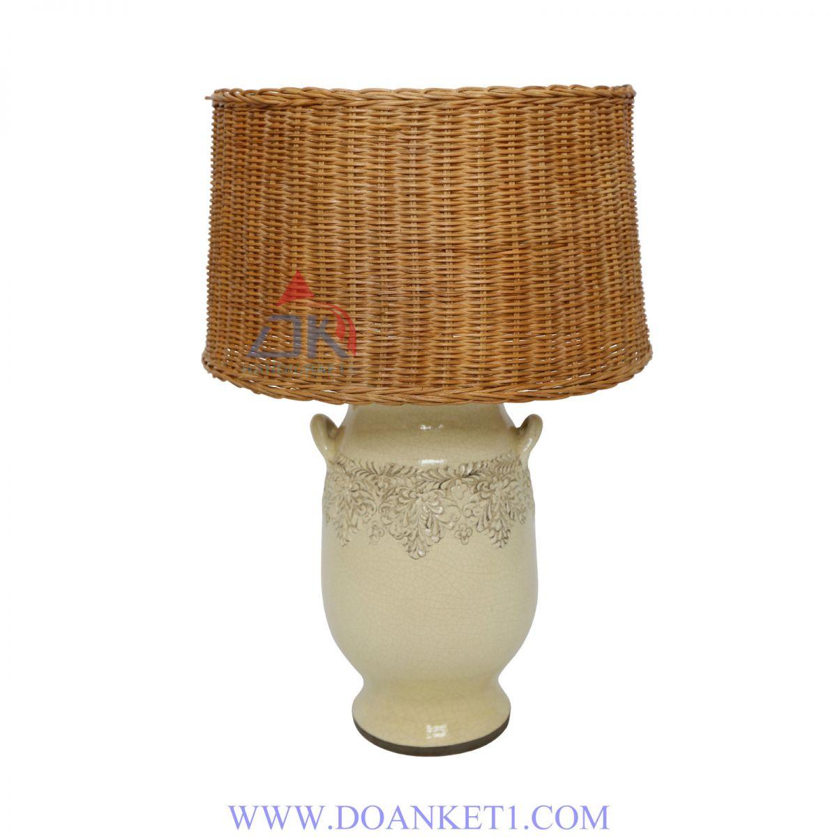 RATTAN LAMP # DK104
