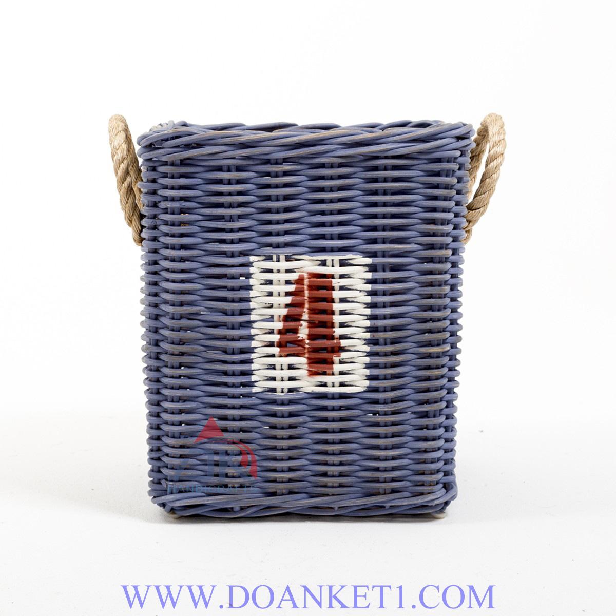 RATTAN BASKET # DK103