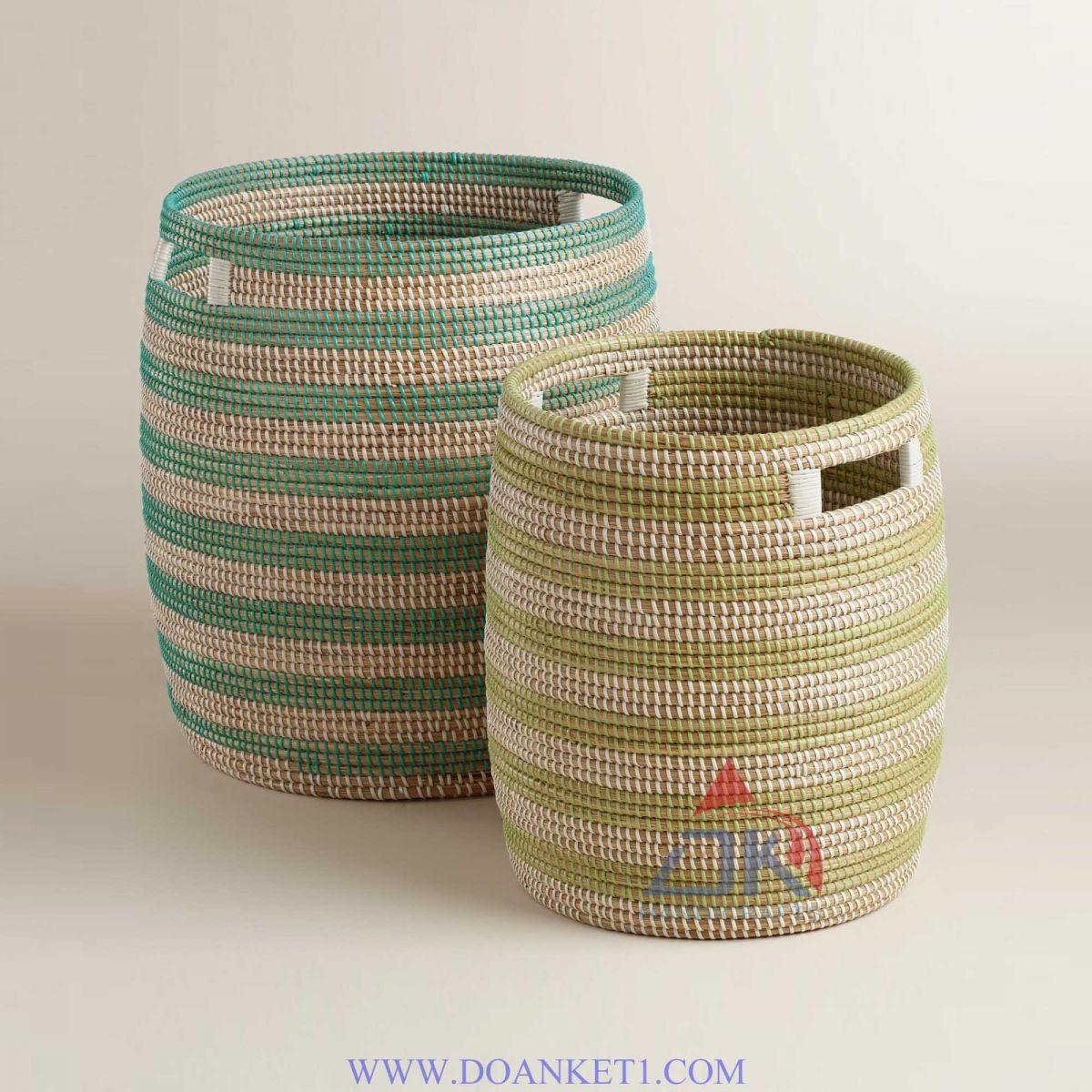 Seagrass Basket # DK184