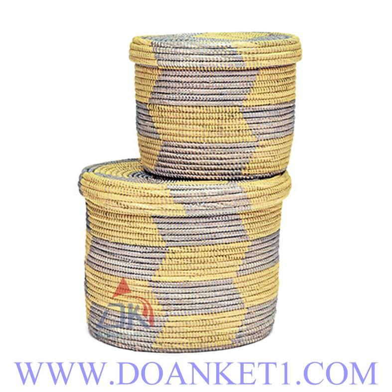Seagrass Basket S/32 # DK199