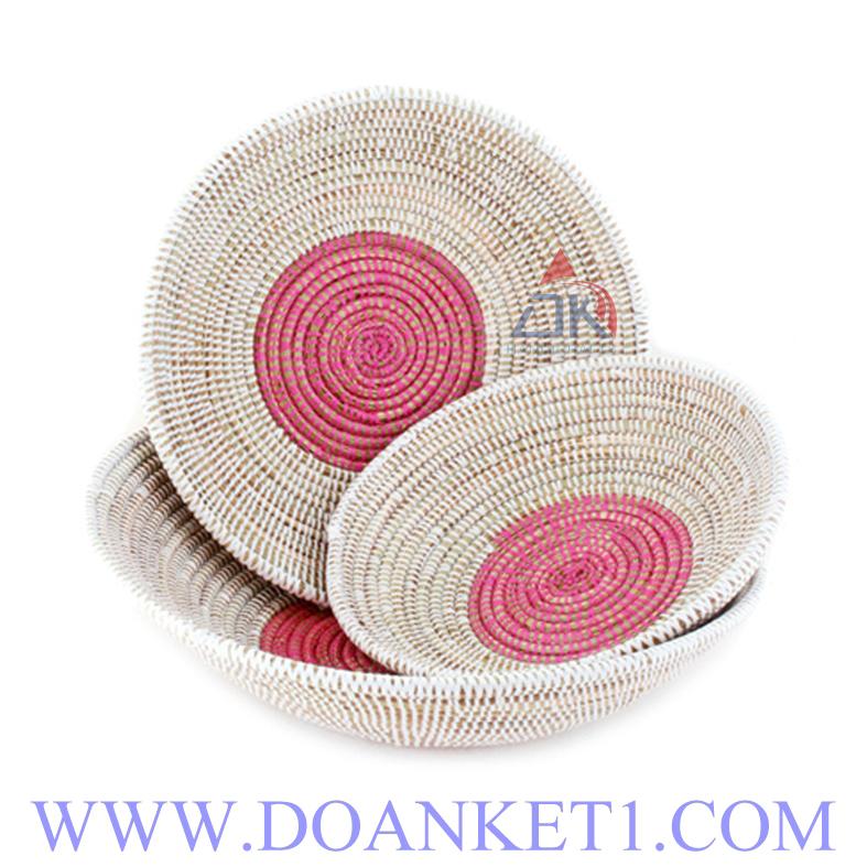 Seagrass Basket S/3 # DK217