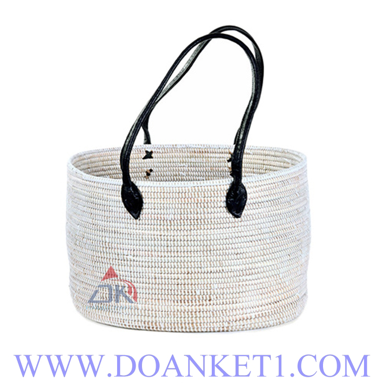 Seagrass Basket With Handle # DK220