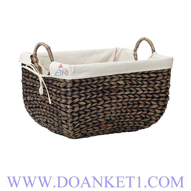 Water Hyacinth Storage Basket # DK256