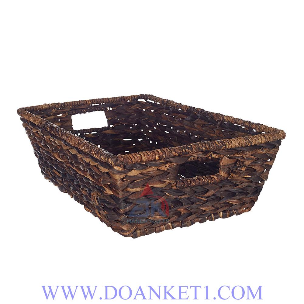 Water Hyacinth Storage Basket # DK258