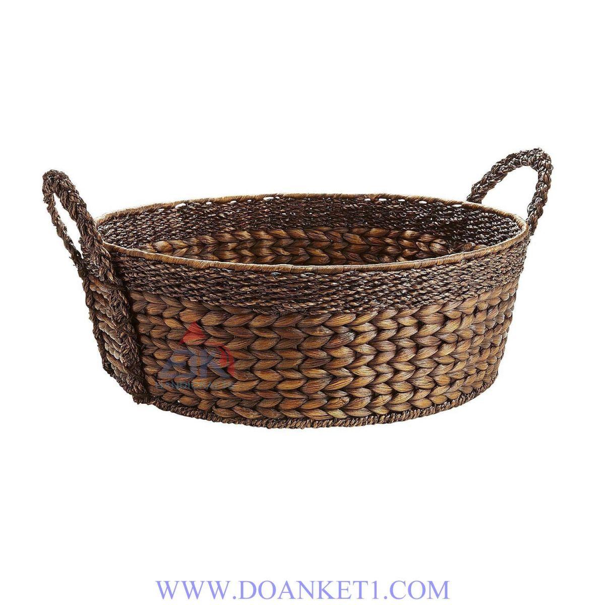 Water Hyacinth Storage Basket # DK260