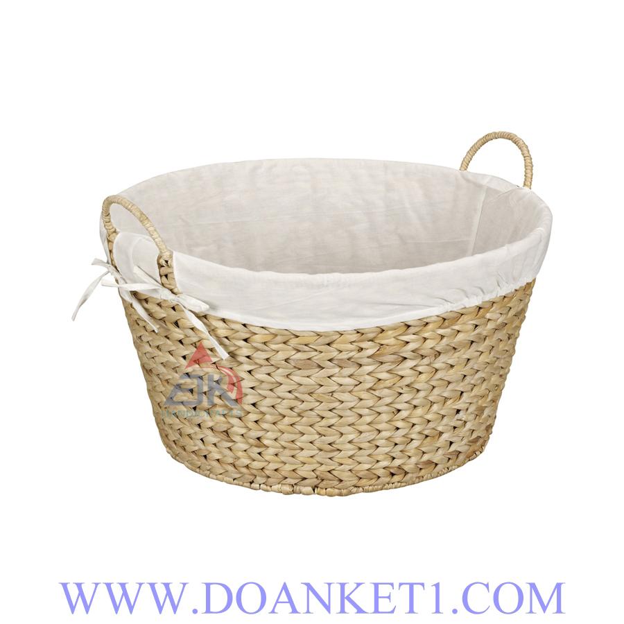 Water Hyacinth Storage Basket # DK261