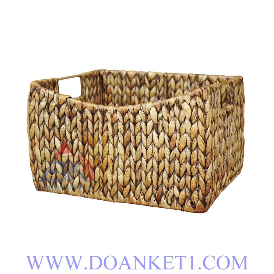 Water Hyacinth Storage Basket # DK264