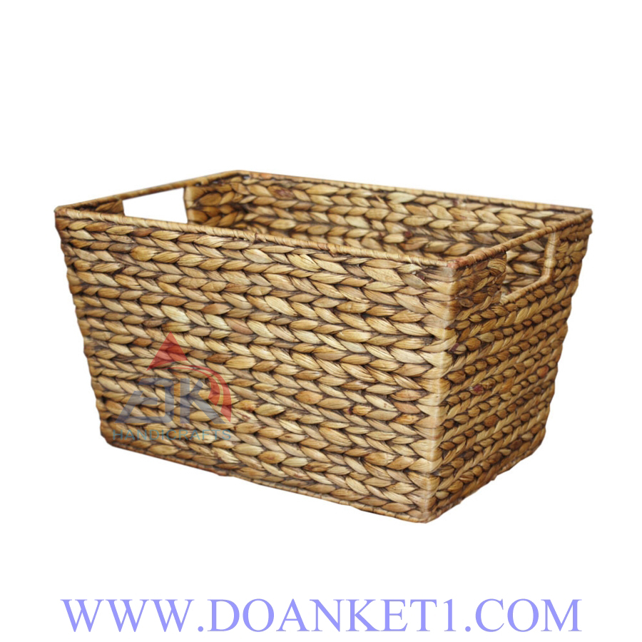 Water Hyacinth Storage Basket # DK265