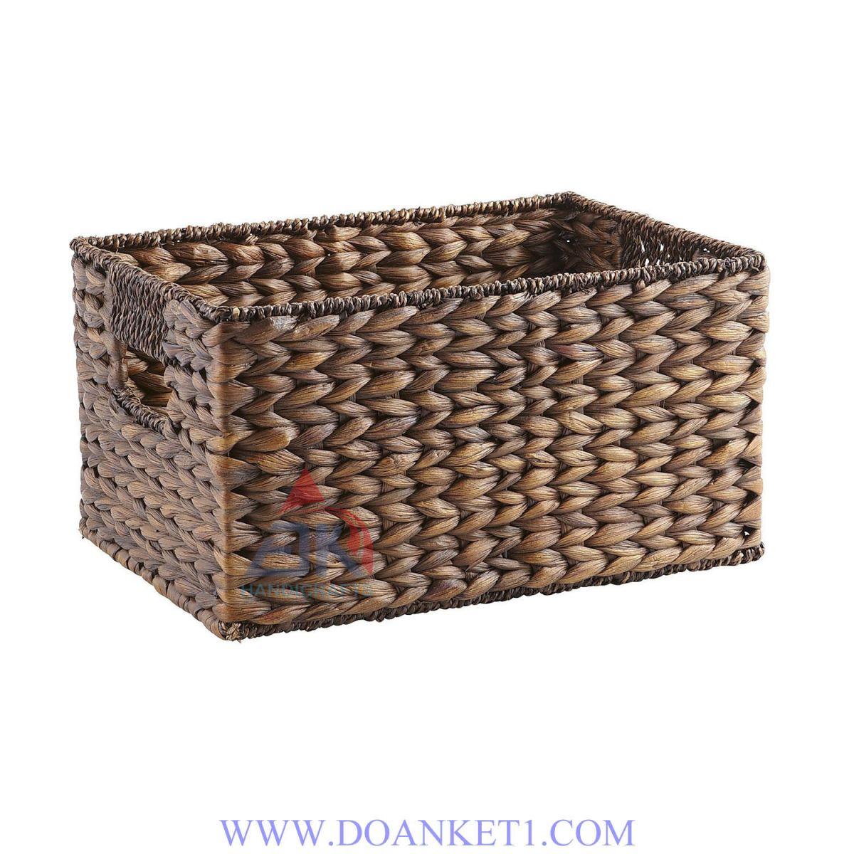 Water Hyacinth Storage Basket # DK267