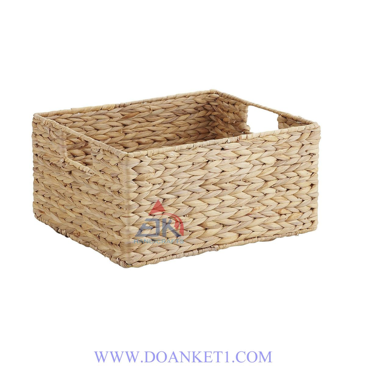 Water Hyacinth Storage Basket # DK275