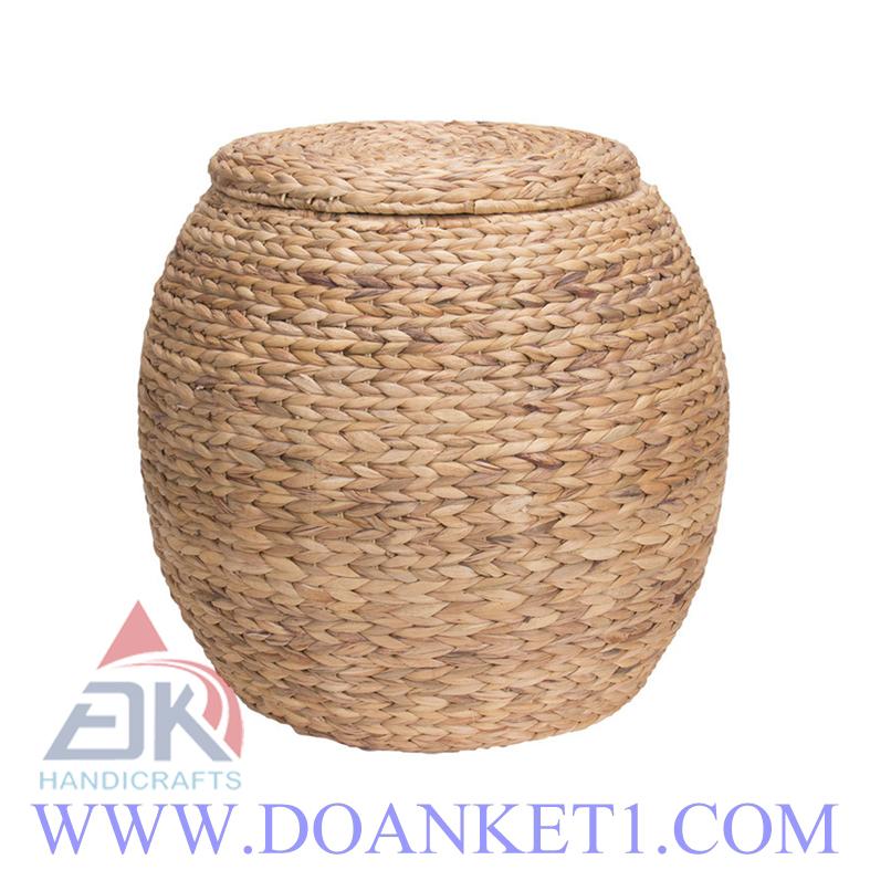 Water Hyacinth Storage Basket # DK279