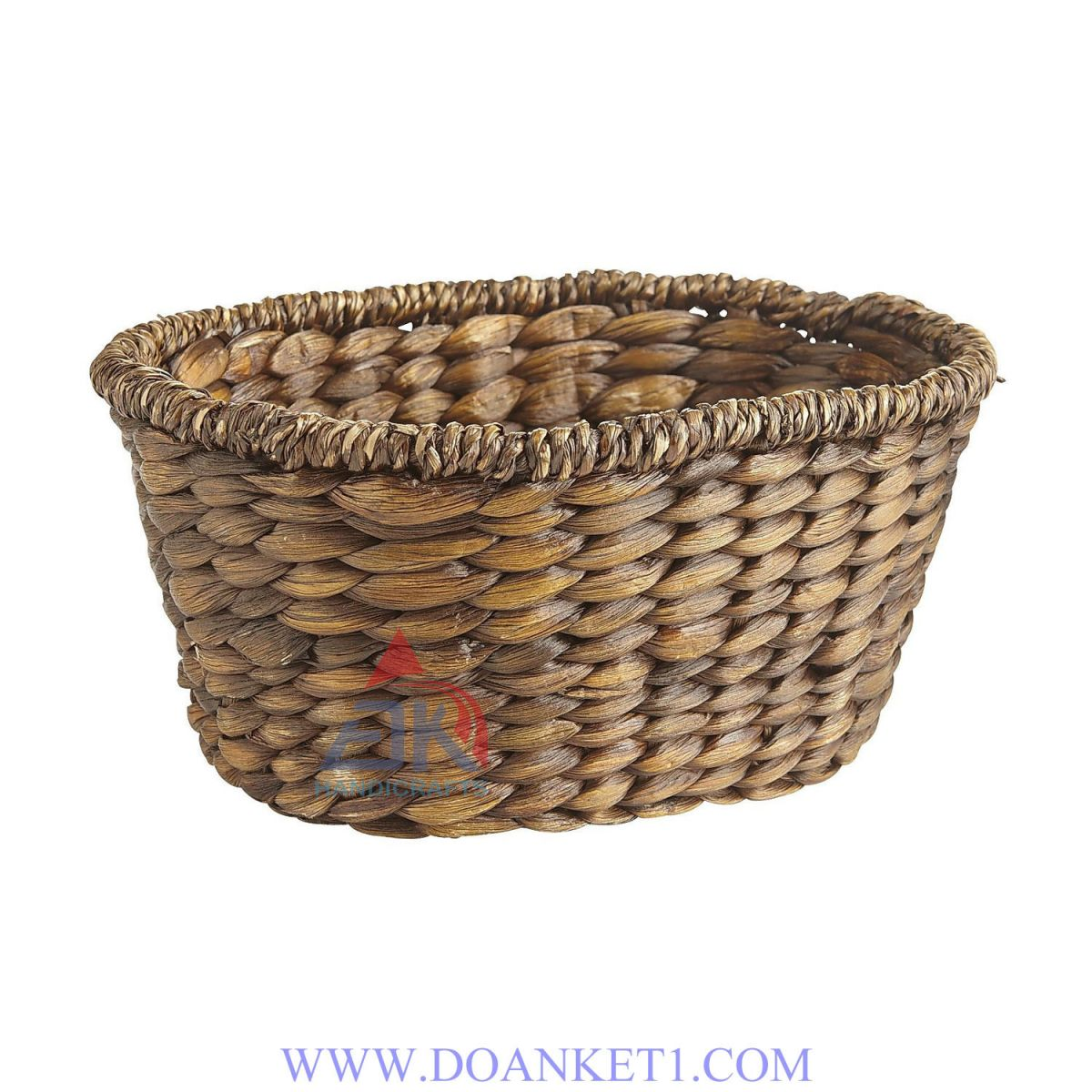 Water Hyacinth Storage Basket # DK285