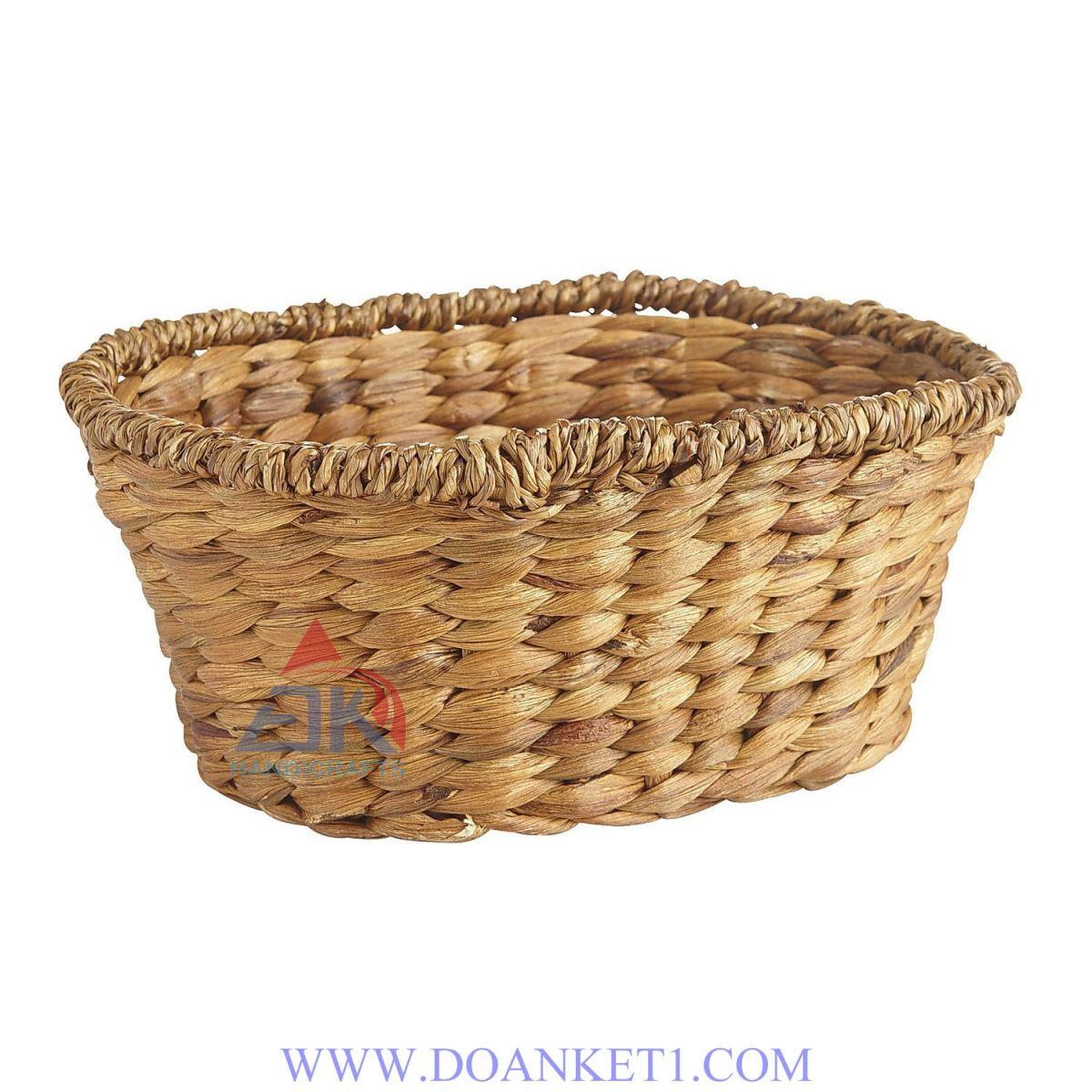 Water Hyacinth Storage Basket # DK287