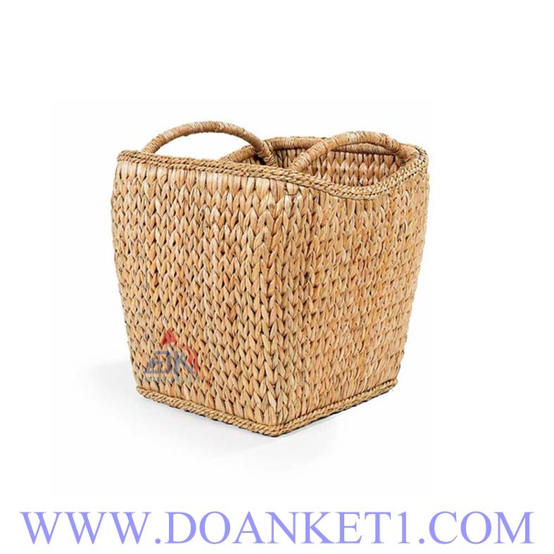Water Hyacinth Storage Basket # DK289