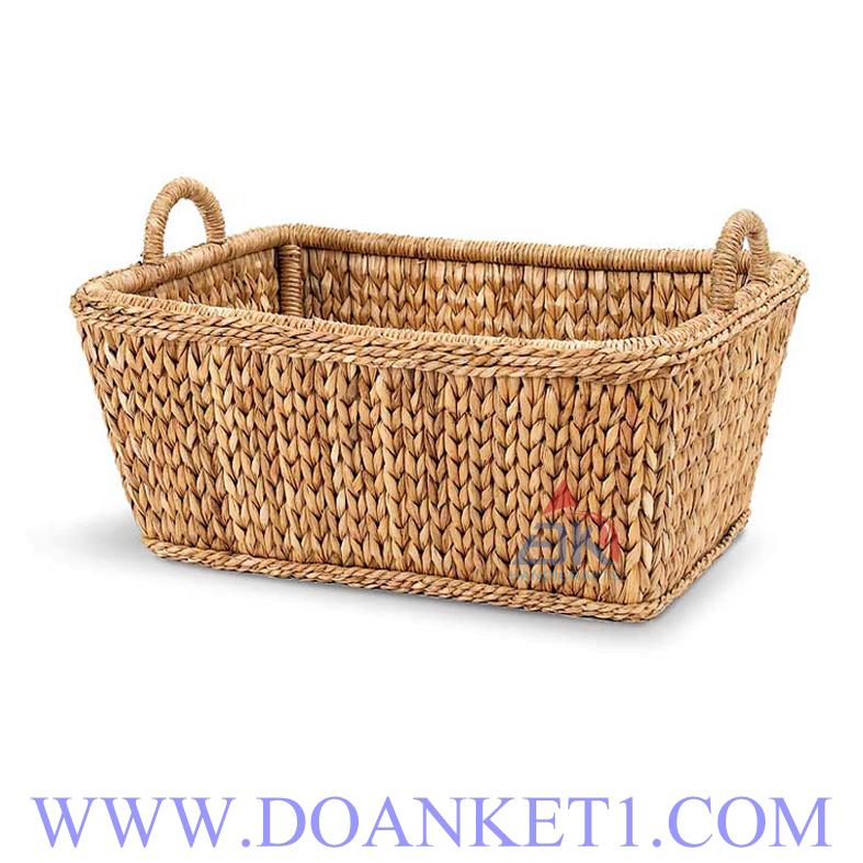 Water Hyacinth Storage Basket # DK291