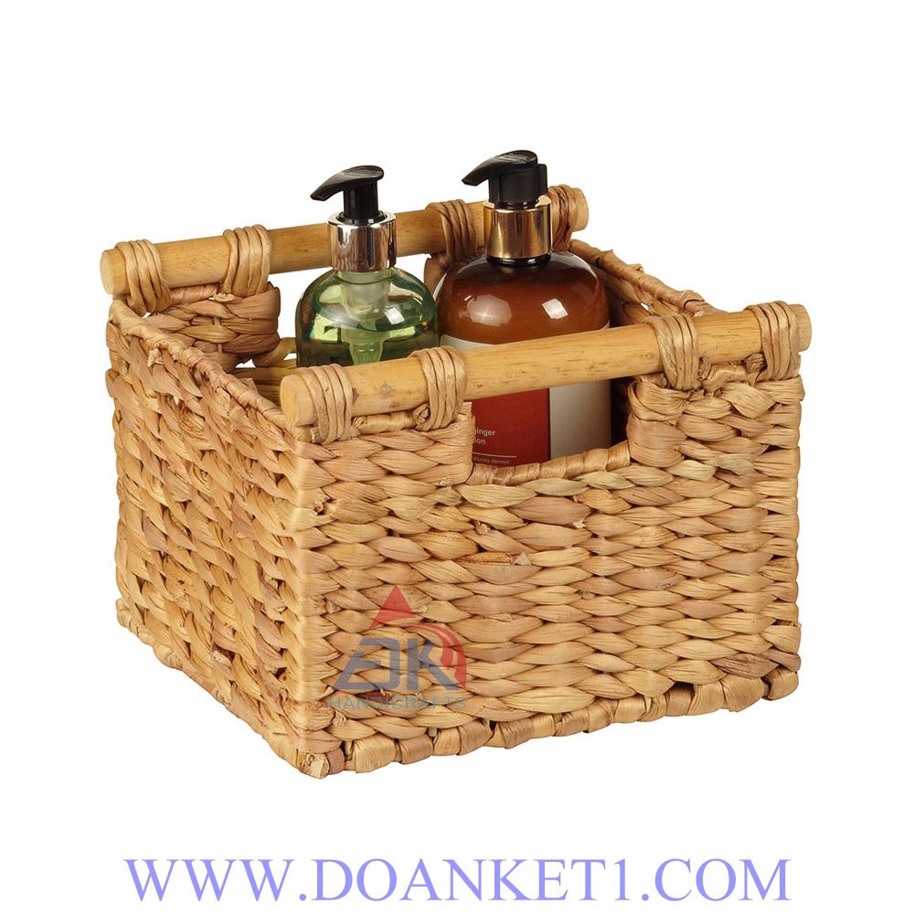 Water Hyacinth Storage Basket # DK295