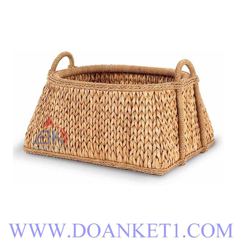 Water Hyacinth Storage Basket