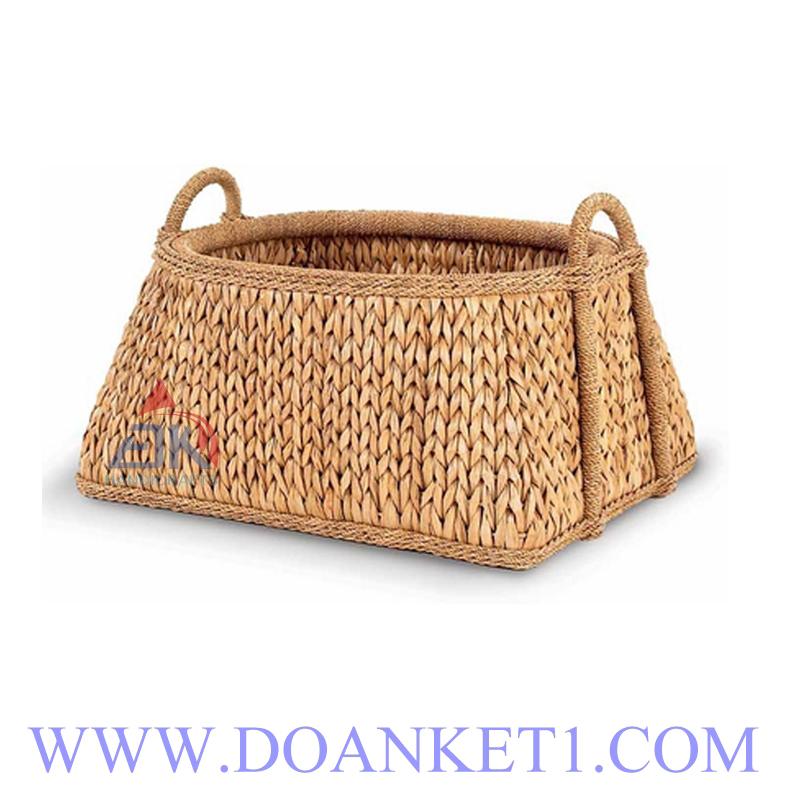 Water Hyacinth Storage Basket # DK293