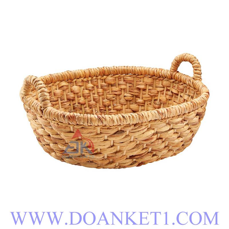 Water Hyacinth Storage Basket # DK299