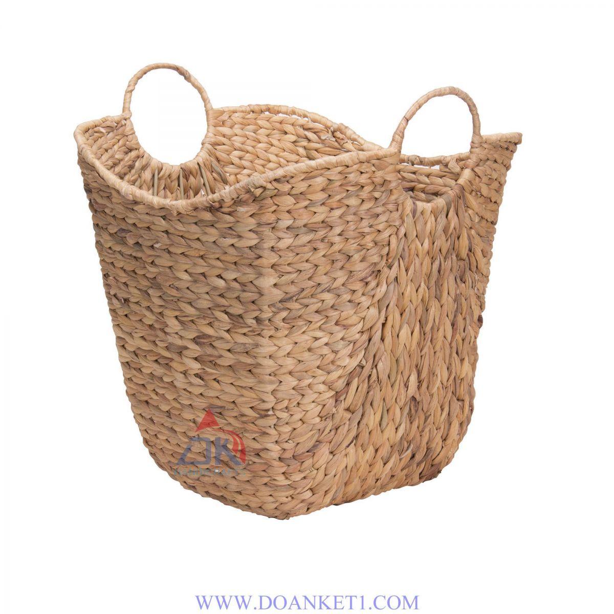 Water Hyacinth Storage Basket # DK345