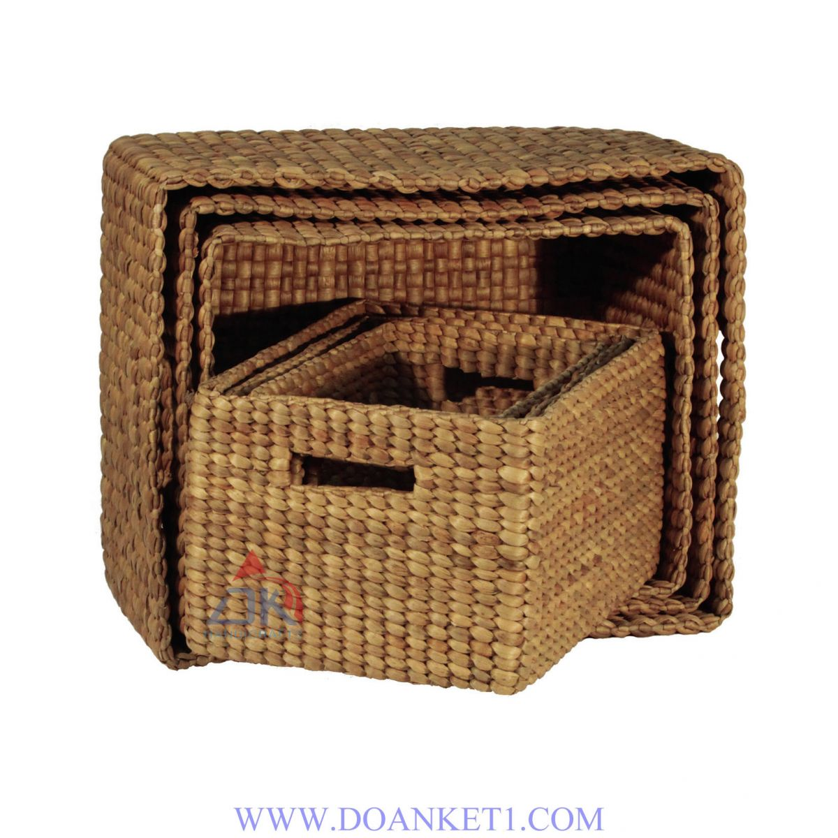Water Hyacinth Basket S/6