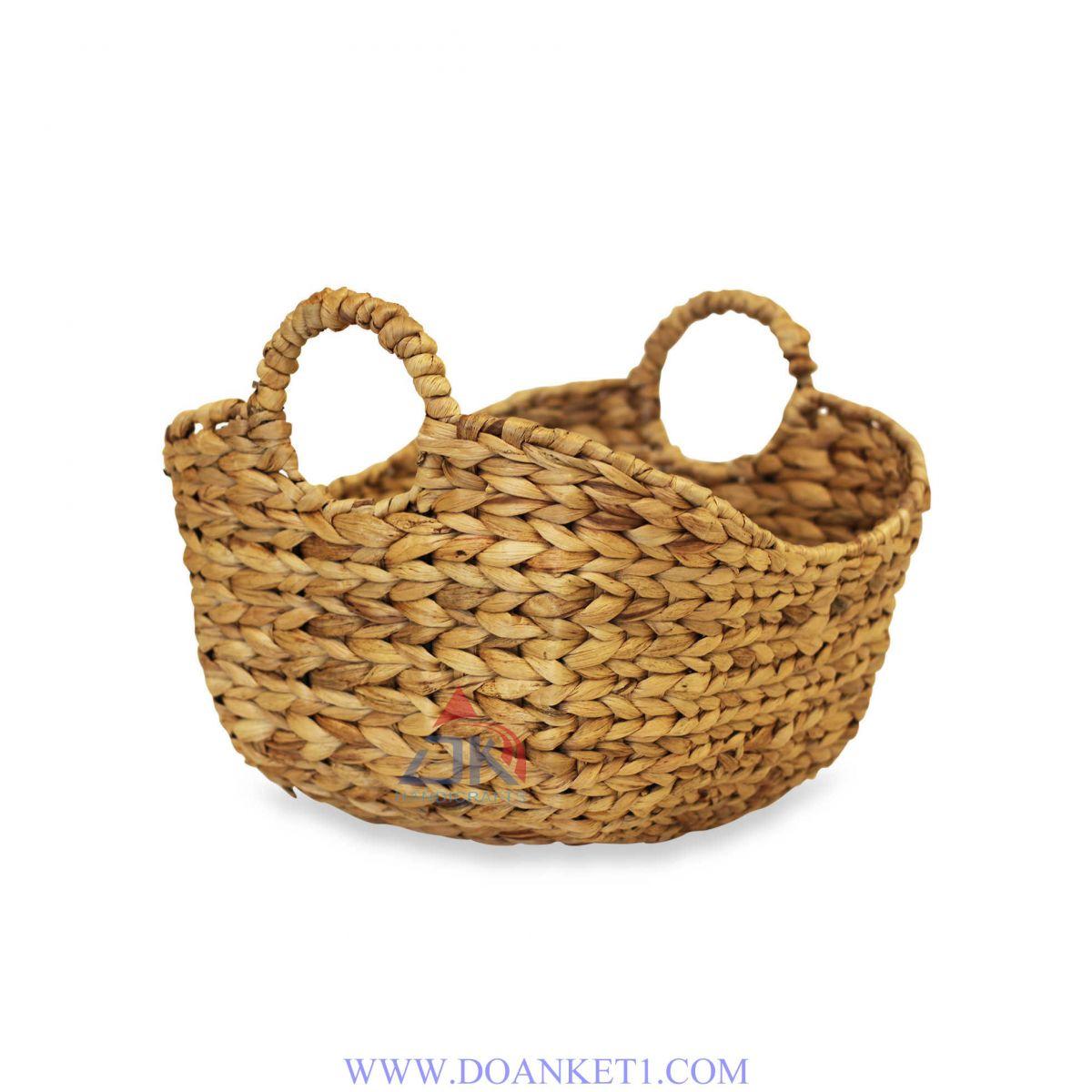 Water Hyacinth Storage Basket # DK349