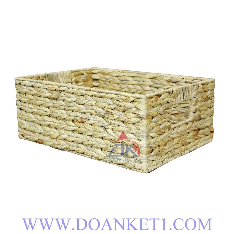Water Hyacinth Storage Basket # DK357