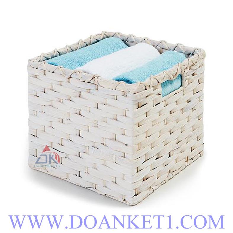 Water Hyacinth Storage Basket # DK359