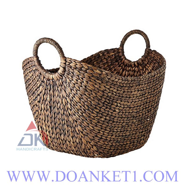 Water Hyacinth Storage Basket DK363