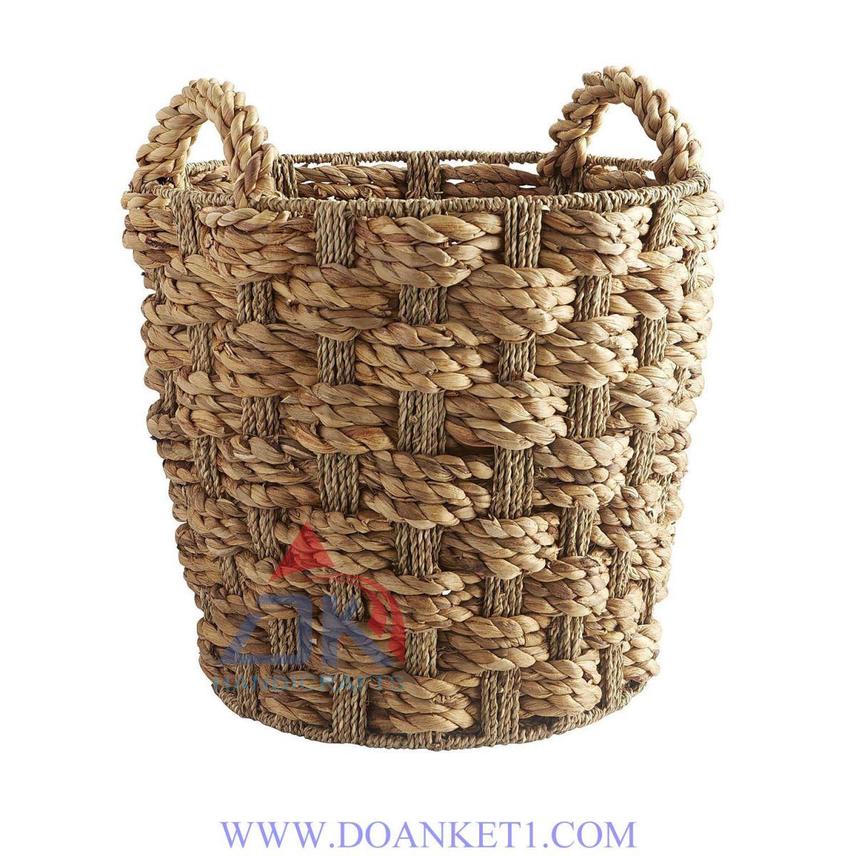 Water Hyacinth Storage Basket # DK370
