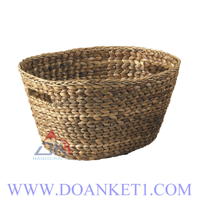Water Hyacinth Basket S/4