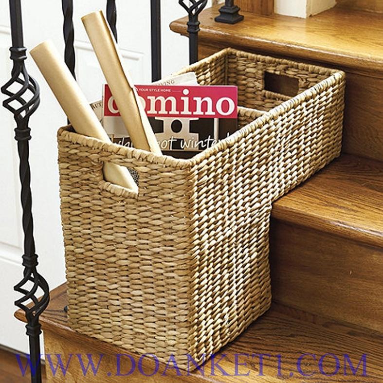 Water Hyacinth Storage Basket # DK382