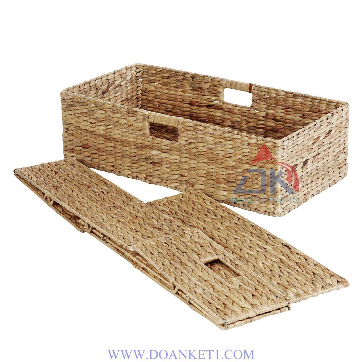 Water Hyacinth Storage Basket # DK384