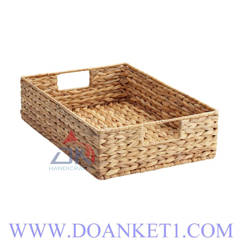 Water Hyacinth Storage Basket # DK388