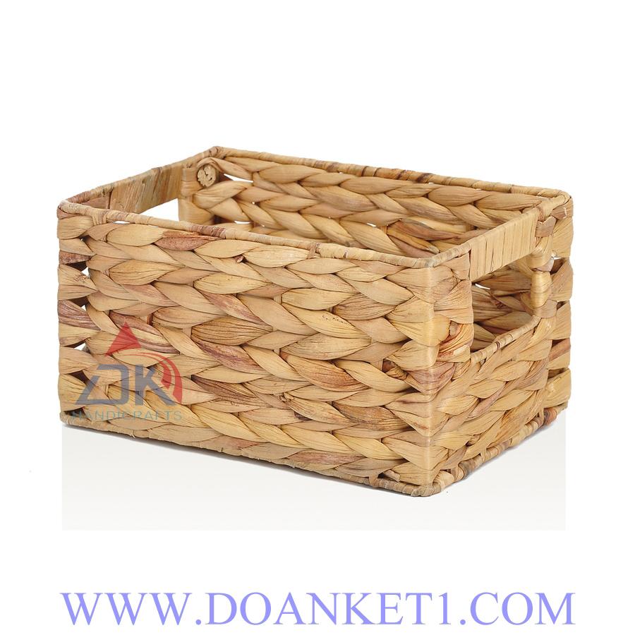 Water Hyacinth Storage Basket # DK390