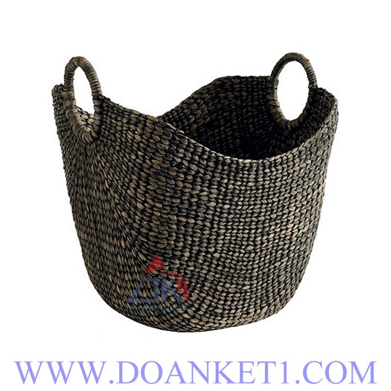 Water Hyacinth Storage Basket # DK392
